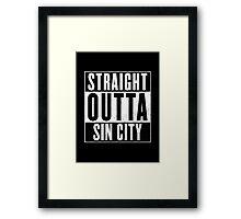 Sin City Framed Print