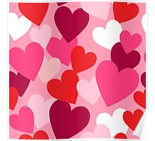 Sweet Hearts for your Sweetheart Poster