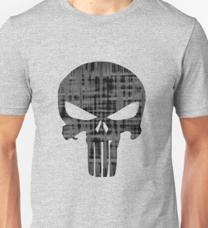 Goth Punk Punisher Skull Unisex T-Shirt