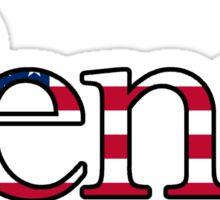 Upenn America Sticker
