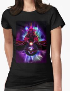Dragon Orb Womens Fitted T-Shirt