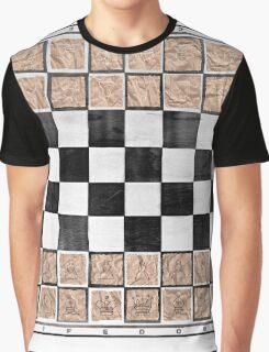 Poor man 's chess Graphic T-Shirt