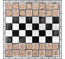 Poor man 's chess Photographic Print
