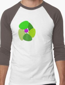 Flower 8 Men's Baseball ¾ T-Shirt