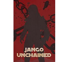 Star Wars Jango Fett Unchage - Django Unchained Logo Photographic Print