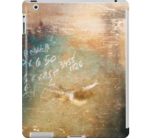 Colorful Workshop Wall Background iPad Case/Skin