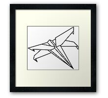 Star Wars - Paper X-Wing  Framed Print