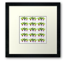 Repeating Roots Framed Print