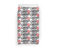 Cardio? More Like CardiNO Duvet Cover