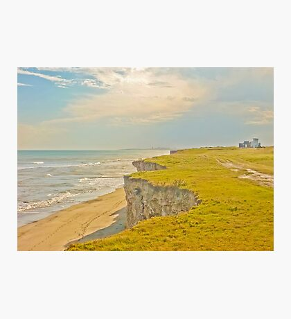 Lonely Beach with Barranco Photographic Print