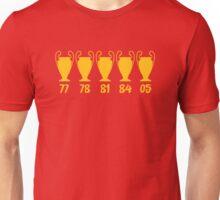 Liverpool FC - LFC - 5 Times Unisex T-Shirt