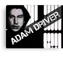 Adam Driver Canvas Print