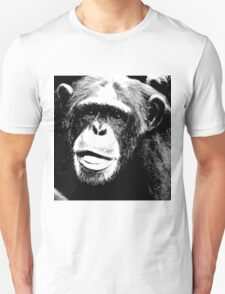 Common chimpanzee-3 Unisex T-Shirt