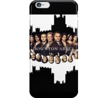 Downton Abbey Poster iPhone Case/Skin
