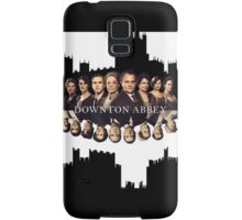 Downton Abbey Poster Samsung Galaxy Case/Skin
