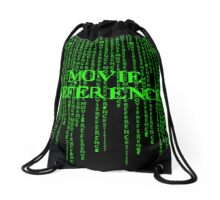 Movie Reference - The Matrix Drawstring Bag