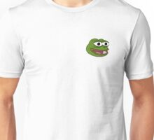 Singular Pepe the frog design. Unisex T-Shirt