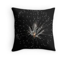 Exploding Candles Throw Pillow