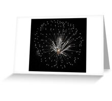 Exploding Candles Greeting Card