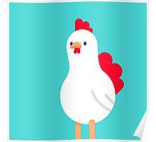 cool cartoon chicken Poster