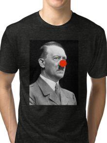 Hitler Clown Tri-blend T-Shirt