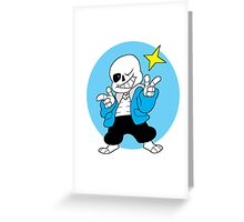 Undertale / Puns  Greeting Card