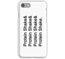 Protein Shake iPhone Case/Skin
