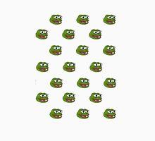 Multiple Pepe the frog design. Unisex T-Shirt