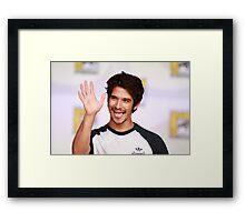t pose Framed Print
