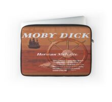 Moby Dick Text Laptop Sleeve
