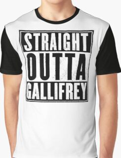 Doctor Who - Straight outta Gallifrey Graphic T-Shirt