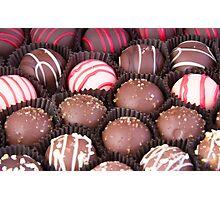 Chocolate Truffles Galore Photographic Print