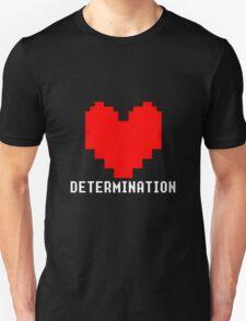 UNDERTALE - DETERMINATION Heart  T-Shirt
