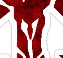 Mandalorian Symbol Sticker