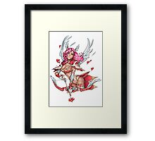 Cupid Clara Framed Print