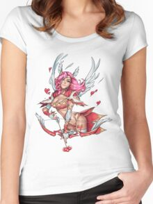 Cupid Clara Women's Fitted Scoop T-Shirt