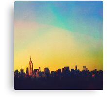 Same Town, New Story. Canvas Print