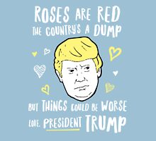 Donald Trump Valentines Day Card Unisex T-Shirt