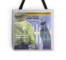 Of Mice and Men Text Tote Bag