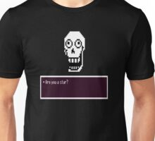 Are you a star?: Undertale design Unisex T-Shirt