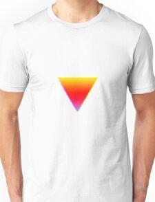 Gradient Triangles Unisex T-Shirt