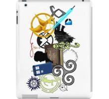 Multi-Fandom Fun iPad Case/Skin