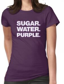 Grape Drink Womens Fitted T-Shirt