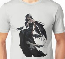 Pretty Gothic lady with crow Unisex T-Shirt