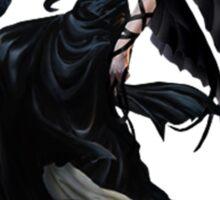 Pretty Gothic lady with crow Sticker