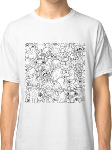 Creepies Collage Classic T-Shirt