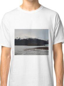 Snowy Mountain of Juneau  Classic T-Shirt