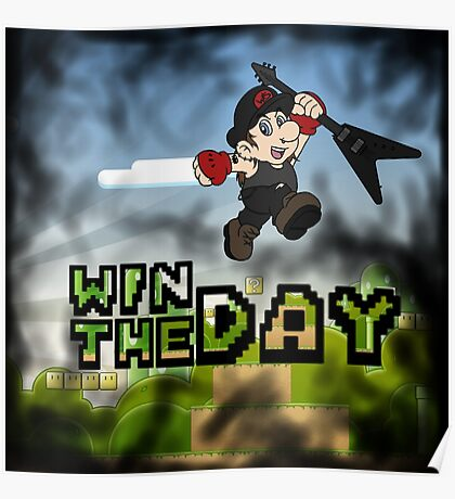 Win The Day - Video Game LGHT Poster