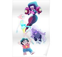 Steven Universe - We are the Crystal Gems Poster