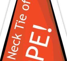 Necktie of NOPE! Sticker